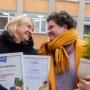 Pärnu Vabakooli tunnustas eetikakeskus teadliku, iseseisva ja õnneliku õppija kujundamise, väärtuspõhise koolikultuuri loomise ning heade suhete väärtustamise eest. Foto: Tartu Ülikool